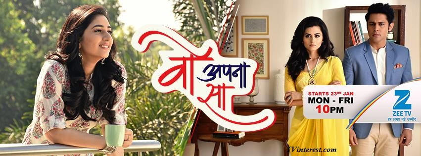 Woh Apna Sa Wiki, Bio, Show Timings - Zee TV