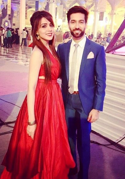 Nakuul Mehta And His Wife