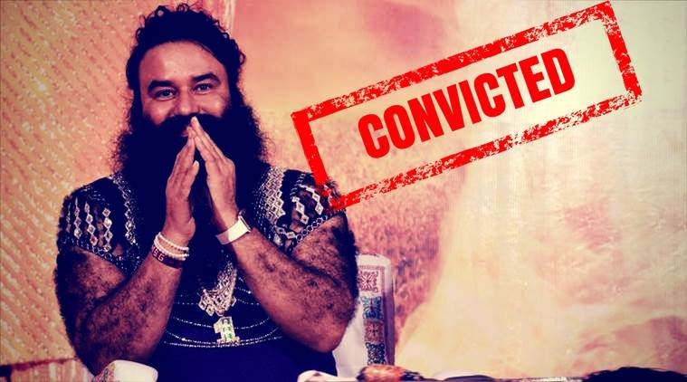 Gurmeet Ram Rahim Covicted in Rape Case Verdict, Gunshots fired in Panchkula